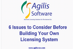 6 Issues to Consider Before Building Your Own Licensing System (10 Minutes)