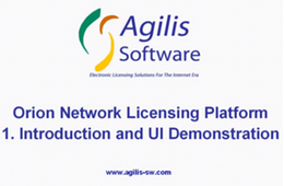 Introduction & Demonstration of the License Server's User Interface (9 Minutes)