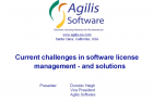 Current Challenges in Software License Management – and Solutions